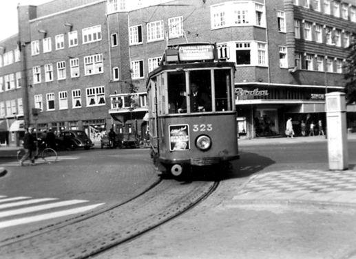 Geheugen van gvb tramlijn 11 historie for Molukkenstraat amsterdam