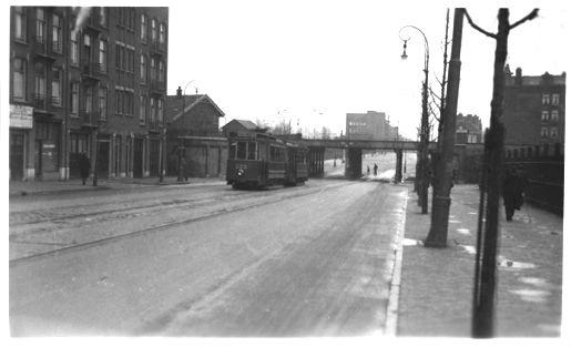 Geheugen van gvb tramlijn 9 historie for Molukkenstraat amsterdam